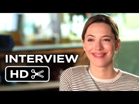 Transcendence Interview - Rebecca Hall (2014) - Sci-Fi Mystery Movie HD