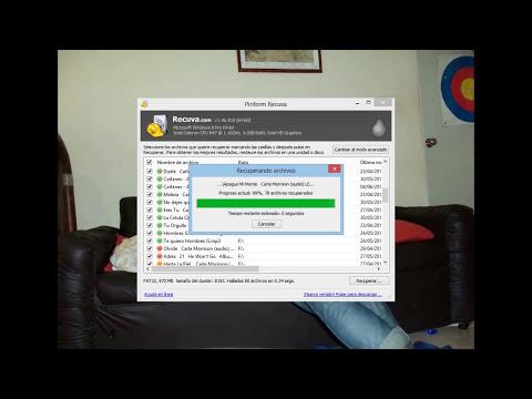Como recuperar archivos de memoria usb o micro SD