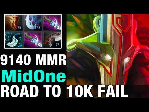 ROAD TO 10K FAIL /: MidOne 9140 MMR Plays Juggernaut  - Dota 2
