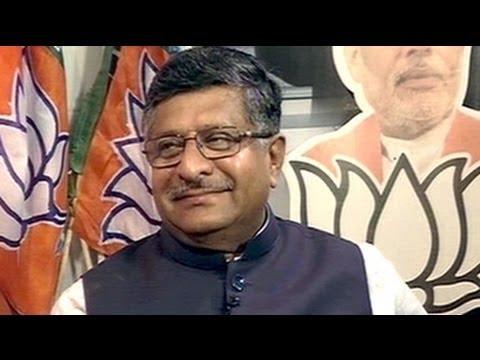 Ravi Shankar Prasad on BJP's resounding victory