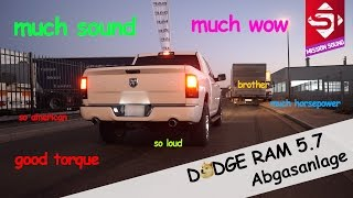 Sidney Industries | DODGE RAM | Abgasanlage