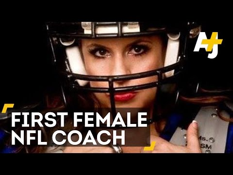 Meet America's First Female NFL Coach