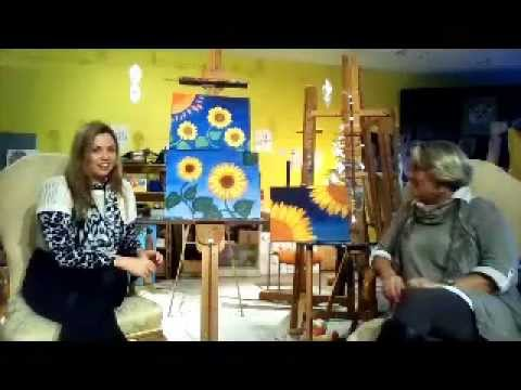 A Painting Retreat in France-MAB Art Studio & Boutique Gallery