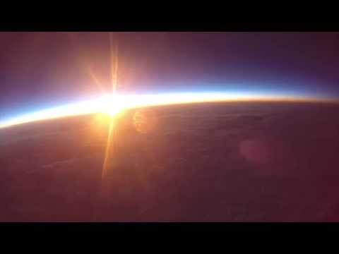 A Sunrise from the Edge of Space