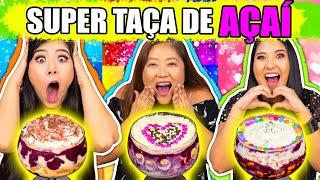 SUPER TAÇA DE AÇAÍ CHALLENGE COM NOSSA MÃE!!   Blog das irmãs