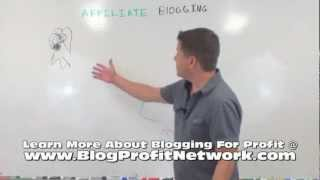 Affiliate Blogging - How It Works - adsense, cpa marketing, clickbank...
