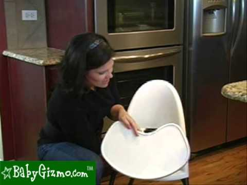 Baby Gizmo Baby Bjorn High Chair Video Review