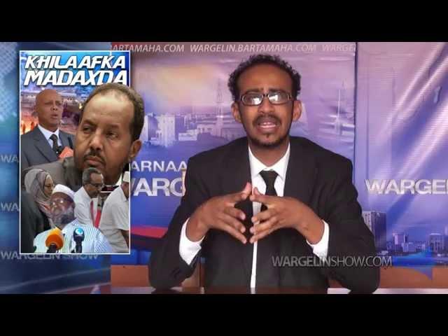 Maxaa Inaga Khaldan Soomaaliyeey, Afrikadii Isdishay Heshiisaye
