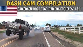 Car Crashes in America (USA & Canada) bad drivers, Road Rage 2017 # 10