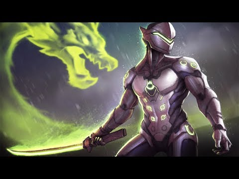 Overwatch - Unreal Genji Deflects