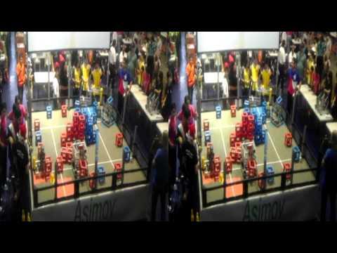 (3D) VEX Robotics – Skyrise –  Match 4 – PRIOR Toa Baja Technology Challenge 2014