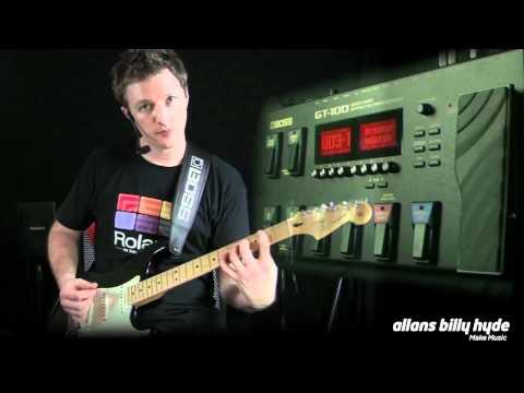 Boss GT-100 Multi FX Guitar Amp Processor