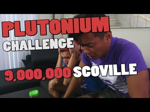THE PLUTONIUM CHALLENGE (World's Hottest Hot Sauce)