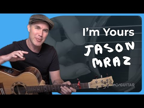 I'm Yours - Jason Mraz - Acoustic Guitar Lesson (SB-222) How To Play On Guitar
