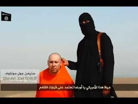 ISIS video shows beheading of American journalist Steven Sotloff