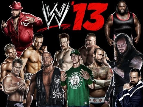 Wwe 13 - Tag Team Match - Blackzilla Vs Sheamus & Cm Punk video