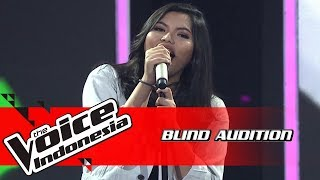Keisha - Wild World | Blind Auditions | The Voice Indonesia GTV 2018