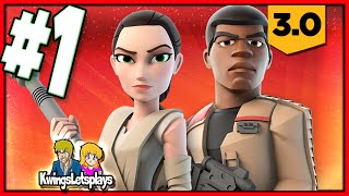 Disney Infinity 3.0 - STAR WARS Part 1 (A Daring Escape) The Force Awakens Play Set