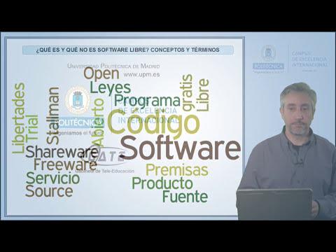 SWLCA: 1.3. ¿Qué es y qué no es software libre?
