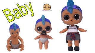 DIY Custom LOL Surprise Punk Boi As Barbie Baby ! Painting Craft Video
