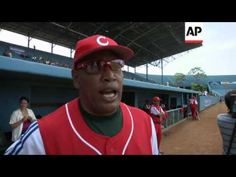 Cuba and US revive their baseball rivalry