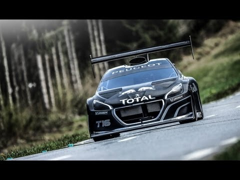 Sébastien Loeb tests the 208 T16 Pikes Peak - King of the Peak