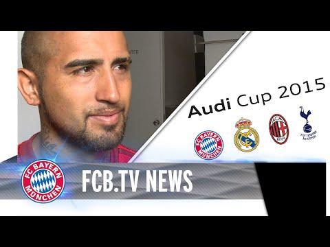 FC Bayern vor Audi Cup - Dante zurück im Training