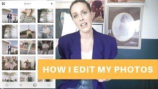 HOW I EDIT MY INSTAGRAM PHOTOS// PHOTOS APPS