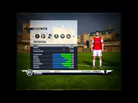 Fifa 11   Mod Your Virtual Pro To 100   Tutorial