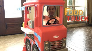 Food Truck 2-in-1 Little Tikes + Pony Rider | Toys Academy