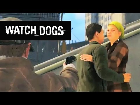 Watch Dogs Funny Moments - Overly Protective Aiden, Fall Damage, Motorcycle Fails!