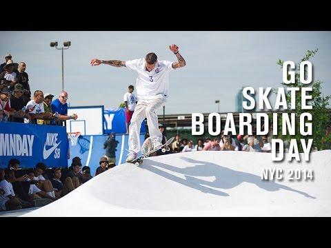 Go Skateboarding Day NYC 2014