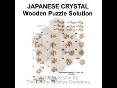 Japanese Crystal Puzzle Solution - YouTube