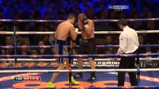 Callum Smith vs Francois Bastient 19-04-2014