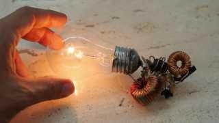Bedava elektrik nasıl üretilir? Lamba yakma hilesi