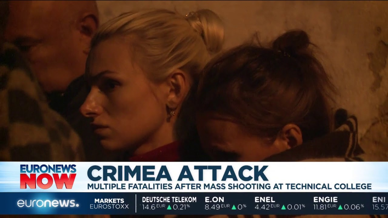 #GME   Crimea college shooting update from the hospital in Kerch