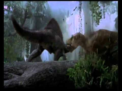 SPINO VS T. REX  Jurassic Park III (T. REX WIN) + BONUS FIGHT