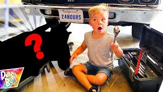 24 HOUR CHALLENGE With Surprise Mystery Guest! (OMG!)