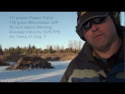 9mm Carbine Loads - Alliant Power Pistol & Accurate #7