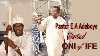 Pastor E.A Adeboye Visited ONI of IFE Palace