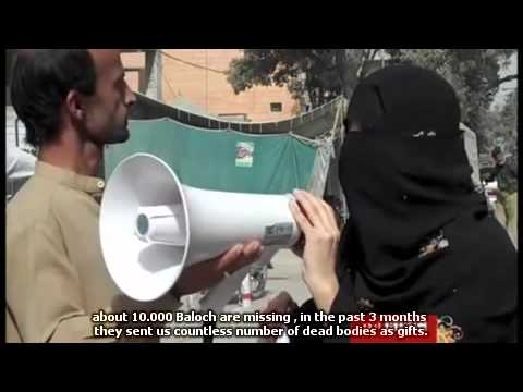 Families Of Baloch Missing Persons Protesting In Front Of Quetta Press Club - Balochistan video