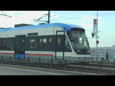 (HD) Trams in Istanbul 01 & 02/04/13