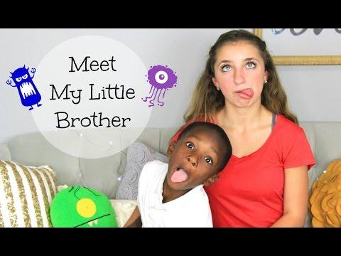 meet my little sister brooklyn and bailey
