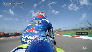 Suzuki Ecstar OnBoard:Grand Prix of the Americas