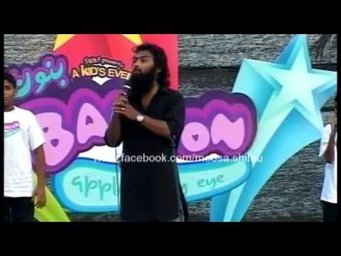 Magey Loabi Mammaa (Madhaha) - Live @Banoon - Moosa Shifau