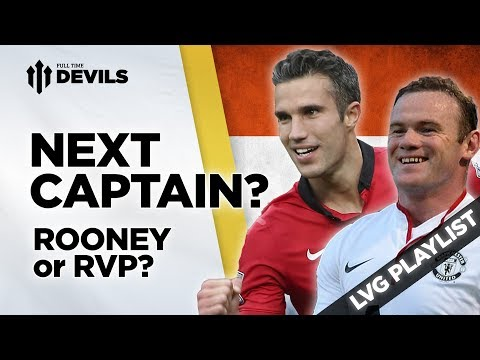 Captain - Rooney or RVP? | Louis van Gaal | Manchester United Manager