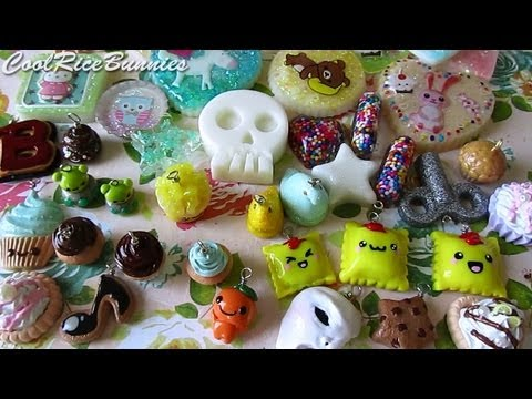 Polymer Clay Charm/Craft Update #14