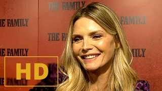 The Family Premiere - Michelle Pfeiffer Interview HD (2013)