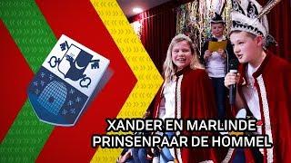 Xander en Marlinde prinsenpaar De Hommel - 4 februari 2020 - Peel en Maas TV Venray