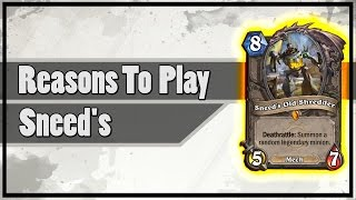 Hearthstone: Reasons To Play Sneed's Old Shredder